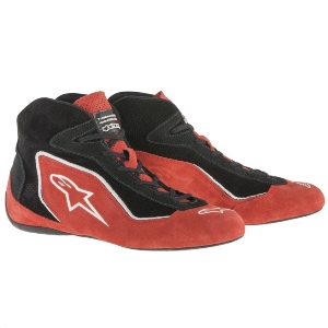 Bottines FIA Alpinestars SP - Rouge/Noir