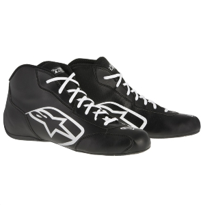 Bottines Karting Alpinestars Tech 1-K Start - Noir/Blanc