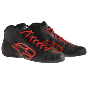 Bottines Karting Alpinestars Tech 1-K Start - Noir/Rouge