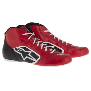 Bottines Karting Alpinestars Tech-1 K Start - Rouge/Noir/Blanc
