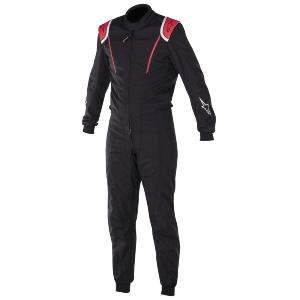combinaison karting alpinestars super k mx1 noir rouge. Black Bedroom Furniture Sets. Home Design Ideas
