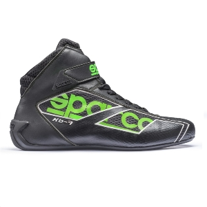 Bottines Karting Sparco Shadow KB-7 - Noir/Vert