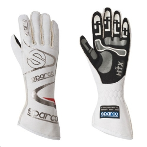 Gants FIA Sparco Arrow RG-7 - Blanc
