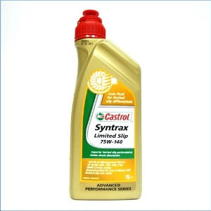 Huile de transmission Castrol Syntrax Limited Slip 75W140 1L
