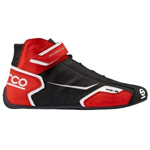 Bottines FIA Sparco Formula RB-8 - Noir/Rouge