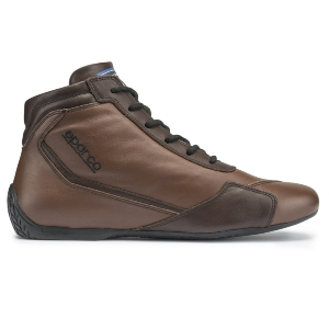 Bottines FIA Sparco Slalom RB-3 Classic - Cuir marron
