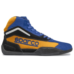 Bottines Karting Sparco Gamma KB-4 - Bleu/Orange