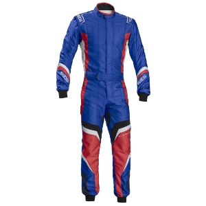 Combinaison Karting Sparco X-Light KS-7 - Bleu/Rouge
