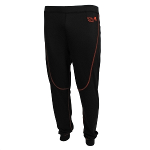 Pantalon/Caleçon FIA Turn One Pro - Noir/Orange fluo