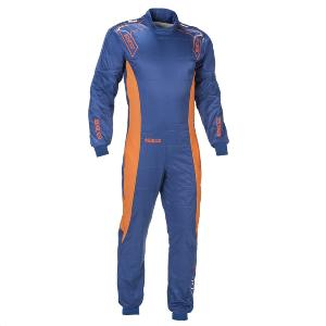 Combinaison Karting Sparco Ergo-7 - Bleu/Orange