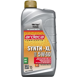 Huile moteur Ardeca Syn Tec 5W-40 1L