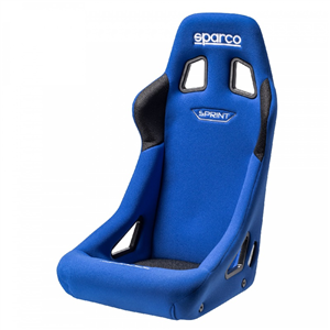 Siège baquet FIA Sparco Sprint Medium   -   Bleu