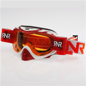 Lunettes Roll Off Rip n' Roll blanches/rouges