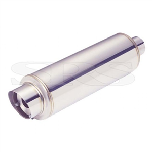 Silencieux universel SRS 60,5mm  -   Inox