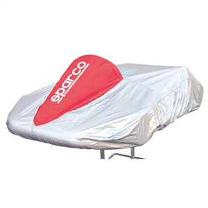 Housse de protection karting Sparco - Gris/Rouge