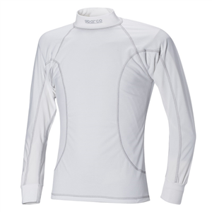 T-Shirt manches longues Sparco Basic - Blanc