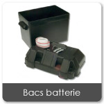 Bacs batteries